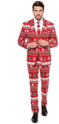 Opposuits Men's OppoSuits Slim-Fit Winter Wonderland Novelty Suit & Tie Set