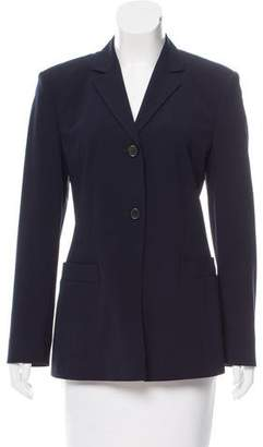 Strenesse Virgin Wool Notch-Lapel Blazer