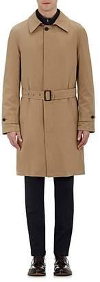 Barneys New York Men's Belted Twill Coat