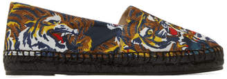 Kenzo Multicolor Flying Tiger Espadrilles