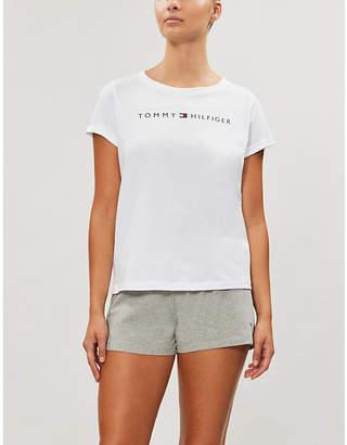 Tommy Hilfiger Remix logo-waist organic-cotton boxers