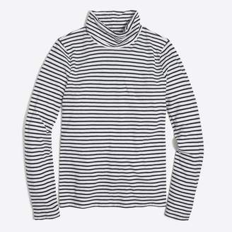 J.Crew Factory Striped tissue turtleneck