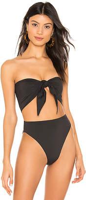 Stone Fox Swim Anini Scarf Bikini Top