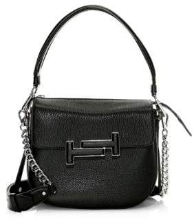 Tod's Dot Leather Shoulder Bag