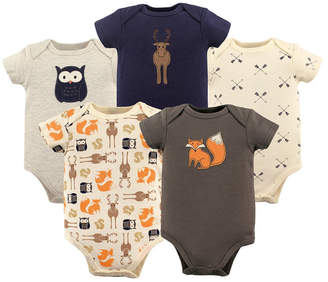 Baby Vision Hudson Baby Bodysuits, 5-Pack, 0-24 Months