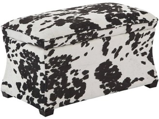 Office Star AVE SIX by Products Hourglass Storage Ottoman, Various Colors
