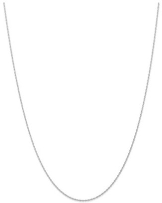 Generic 14k White Gold .95 mm Carded Cable Rope Chain