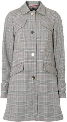 Dorothy Perkins Womens Multi Coloured Checked Bonded 'Dolly' Mac