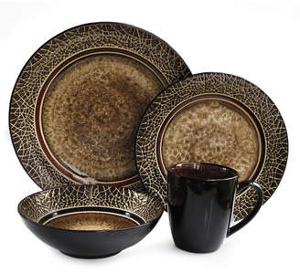 Jay Import Co Markham Square 16-Piece Dinnerware Set