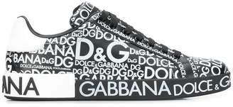 Dolce & Gabbana logo mania sneakers