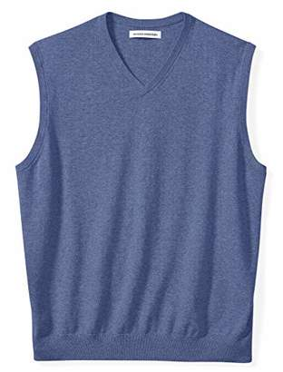 Amazon Essentials Men's Big and Tall V-Neck Sweater Vest
