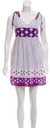 Milly Printed Sleeveless Dress w/ Tags