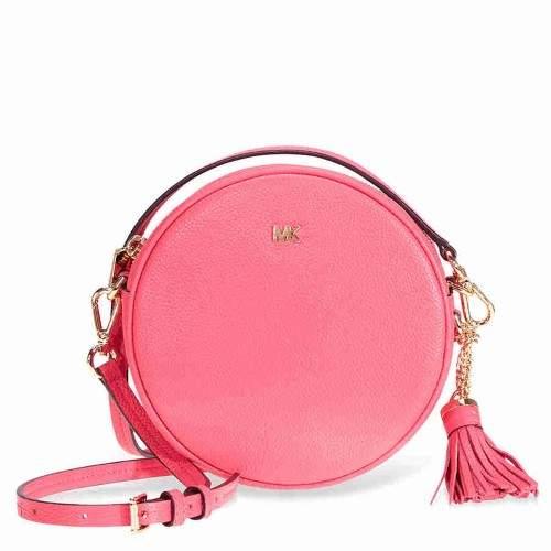 Michael Kors Mercer Medium Canteen Crossbody Bag- Rose Pink - ONE COLOR - STYLE