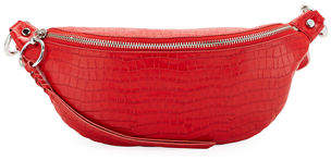 Rebecca Minkoff Bree Croco Leather Belt Bag