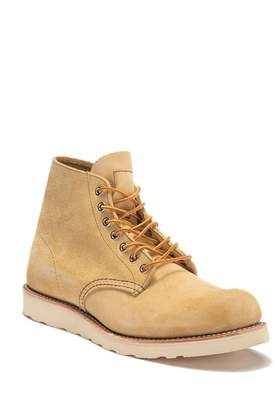 """Red Wing Shoes 6\"""" Round Suede Lace Boot"""