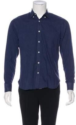 Billy Reid Woven Button Shirt