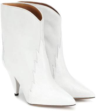 Isabel Marant Leider suede ankle boots