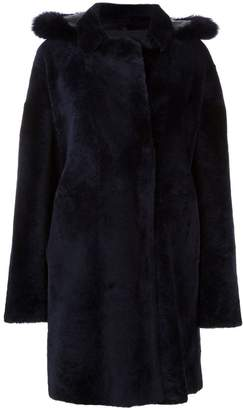 Guy Laroche double breasted fur coat