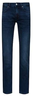 HUGO BOSS Slim-fit low-rise jeans in stretch denim