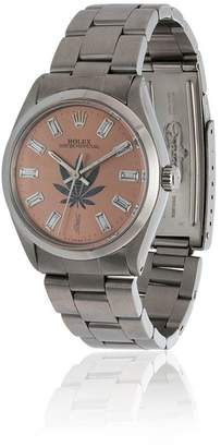 Jacquie Aiche vintage Rolex leaf diamond watch