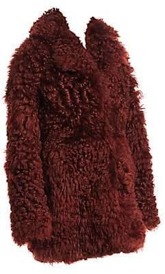 8d027cfe672a Derek Lam 10 Crosby Women s Shearling Notched Collar Coat