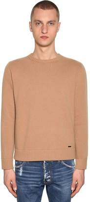 DSQUARED2 Wool & Cashmere Crewneck Sweater