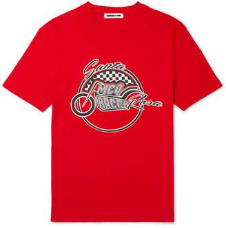 McQ Santa Rosa Printed Cotton-Jersey T-Shirt
