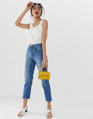 Northmore Denim organic cotton super high-waist mom jean