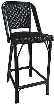 Tiab Inc. Bistro Outdoor Barstool - Black