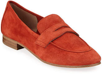 Marc Fisher Chang Suede Penny Loafers