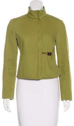 Miu Miu Wool Toggle Jacket