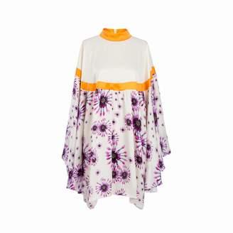 Adelina RUSU - White Silk Charmeuse Dress