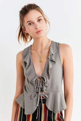 Truly Madly Deeply Rochelle Ruffle Tank Top