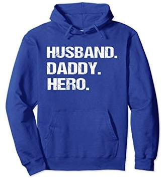 Pullover Hoodie Funny Husband Daddy Hero Fun