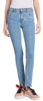 Off-White Five-Pocket Skinny Jeans