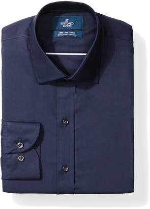Buttoned Down Men's Slim Fit Stretch Poplin Non-Iron Dress Shirt
