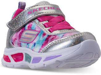 Skechers Toddler Girls' S Lights: Litebeams - Dance N Glow Light Up Running Sneakers from Finish Line