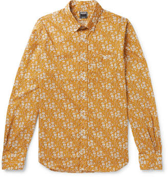 Todd Snyder Slim-Fit Button-Down Collar Printed Cotton Shirt
