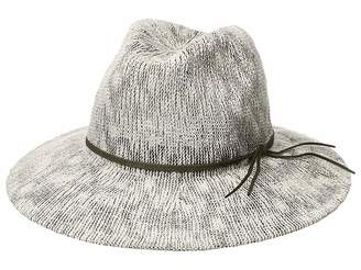Collection XIIX Two-Tone Slubby Knit Packable Panama Hat Knit Hats