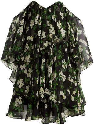Caroline Constas Paros floral-print silk-crepe dress