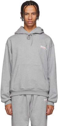 Balenciaga Grey Campaign Logo Hoodie