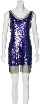 Gryphon Sequinned Mini Dress