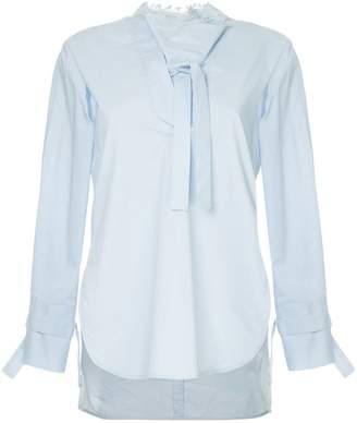 Eudon Choi long sleeve side-slited shirt