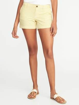 Old Navy Mid-Rise Everyday Seersucker Shorts For Women - 3.5 inch inseam