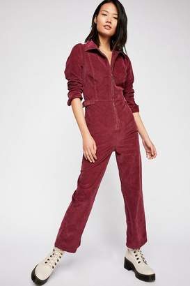 Take Me Out Cord Jumpsuit