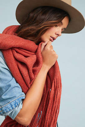 Anthropologie Cozy Blanket Scarf