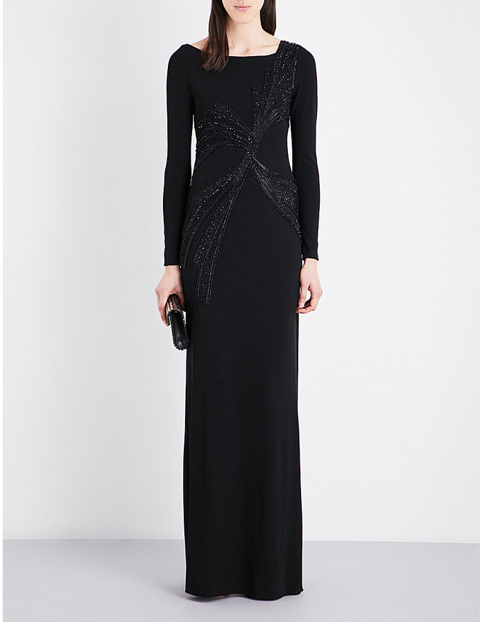 Emilio PucciEMILIO PUCCI Sequin-embellished long-sleeved gown