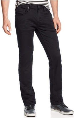 Buffalo David Bitton Men's Slim-Straight Fit Six Torpedo Stretch Twill Jeans $99 thestylecure.com