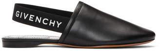 Givenchy Black Elastic Rivington Loafers