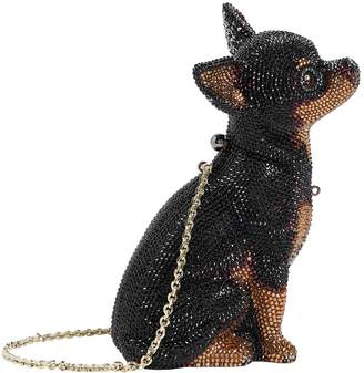 Judith Leiber Chihuahua Mickey Dog Clutch